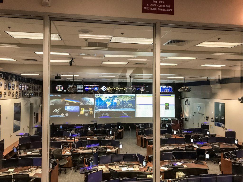 Mission Control Center von innen