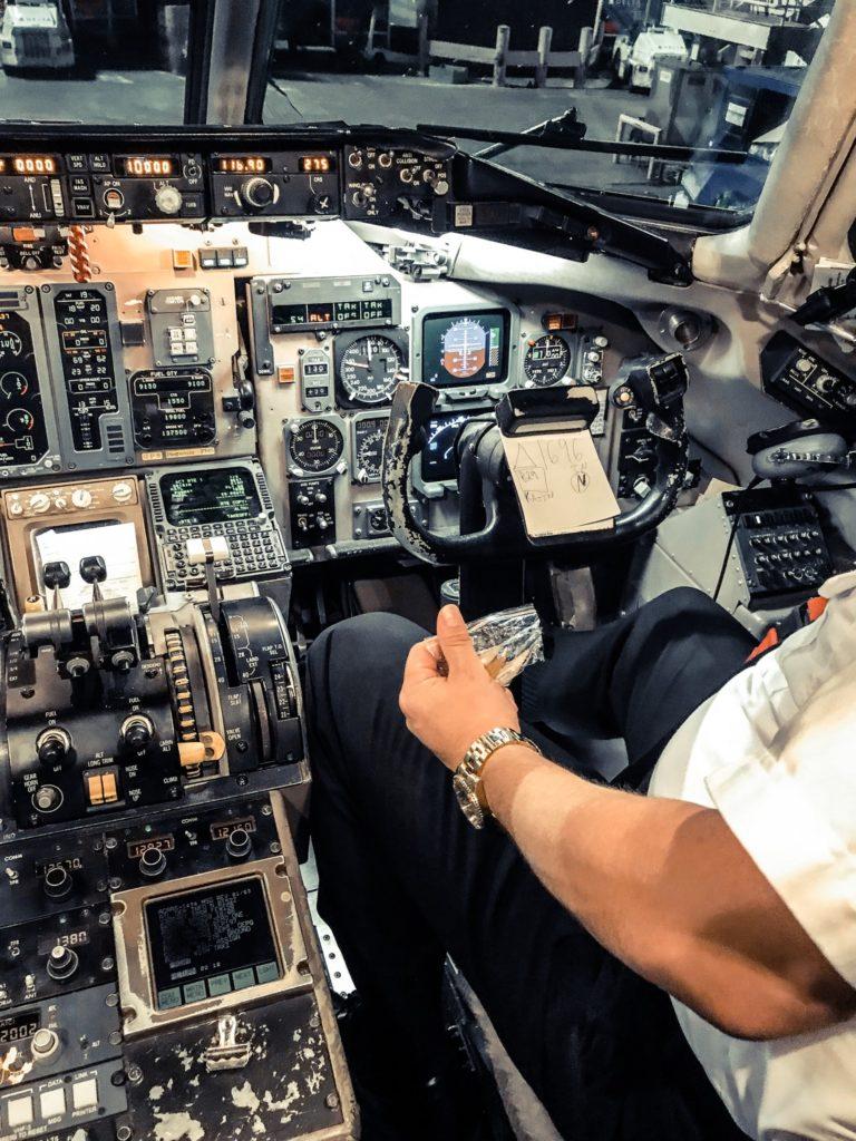 Flugzeug MD90
