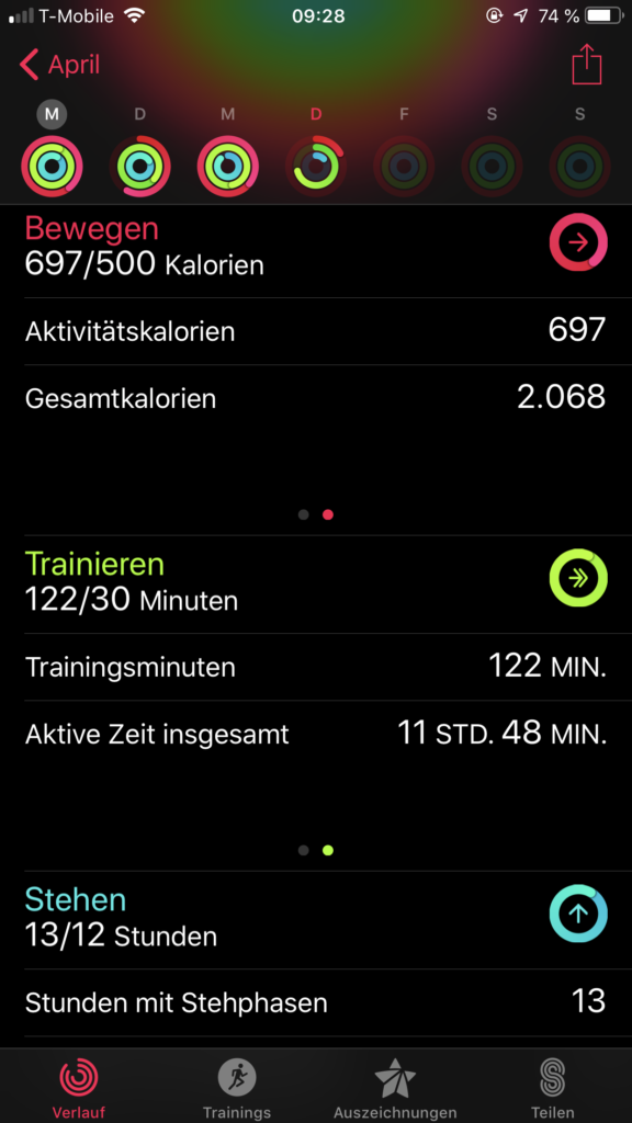 Apple Watch Aktivitaet App 02