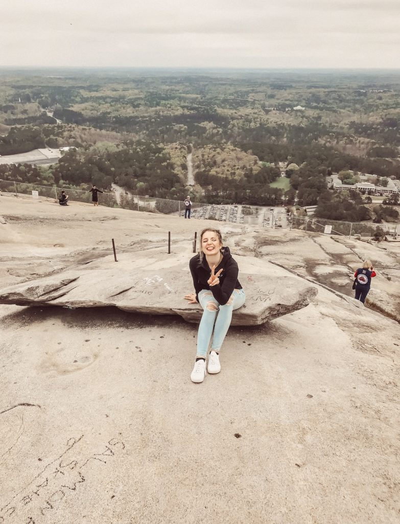 Stone Mountain Atlanta und Bloggerin Raffaela