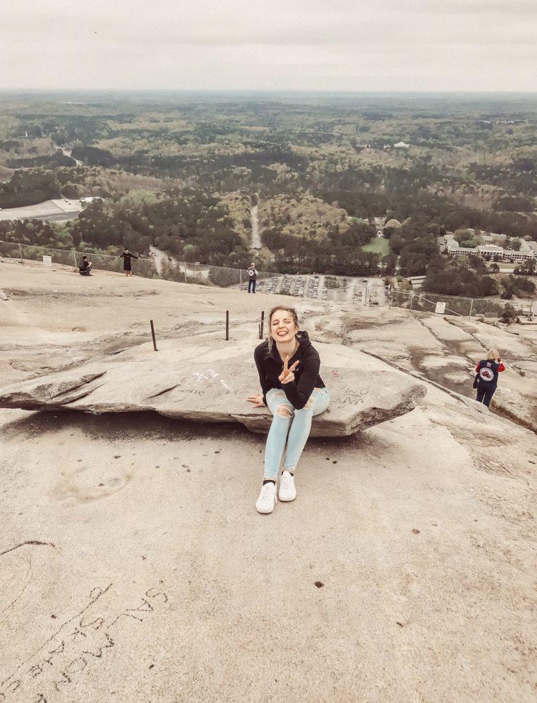Stone Mountain Atlanta und Bloggerin Raffaela