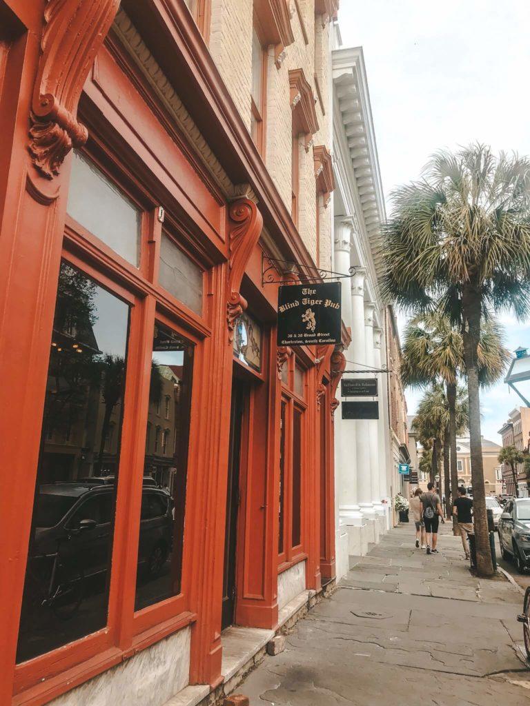 Charleston Blind Tiger Pub