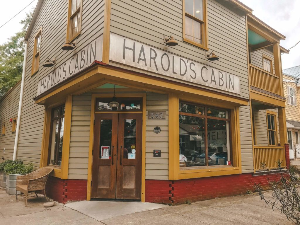 Harolds Cabin Coffee Bar