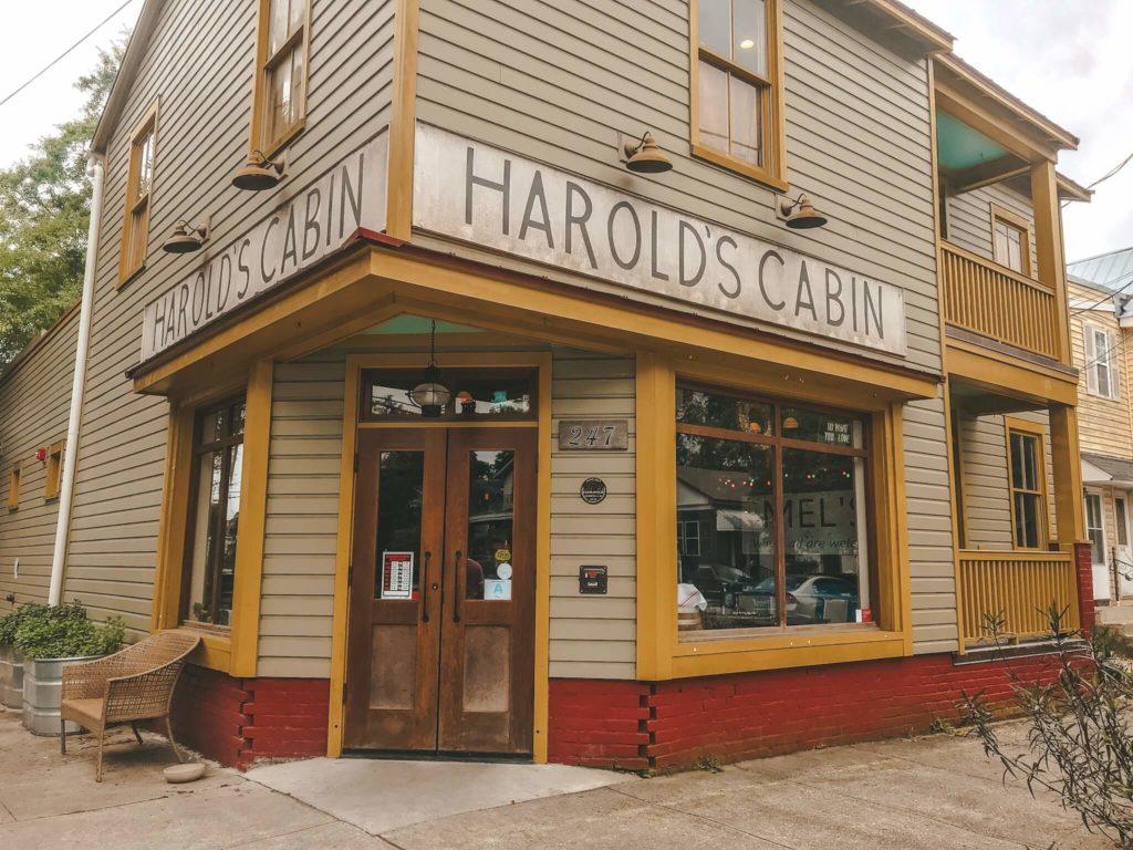 Harolds Cabin Coffee Bar