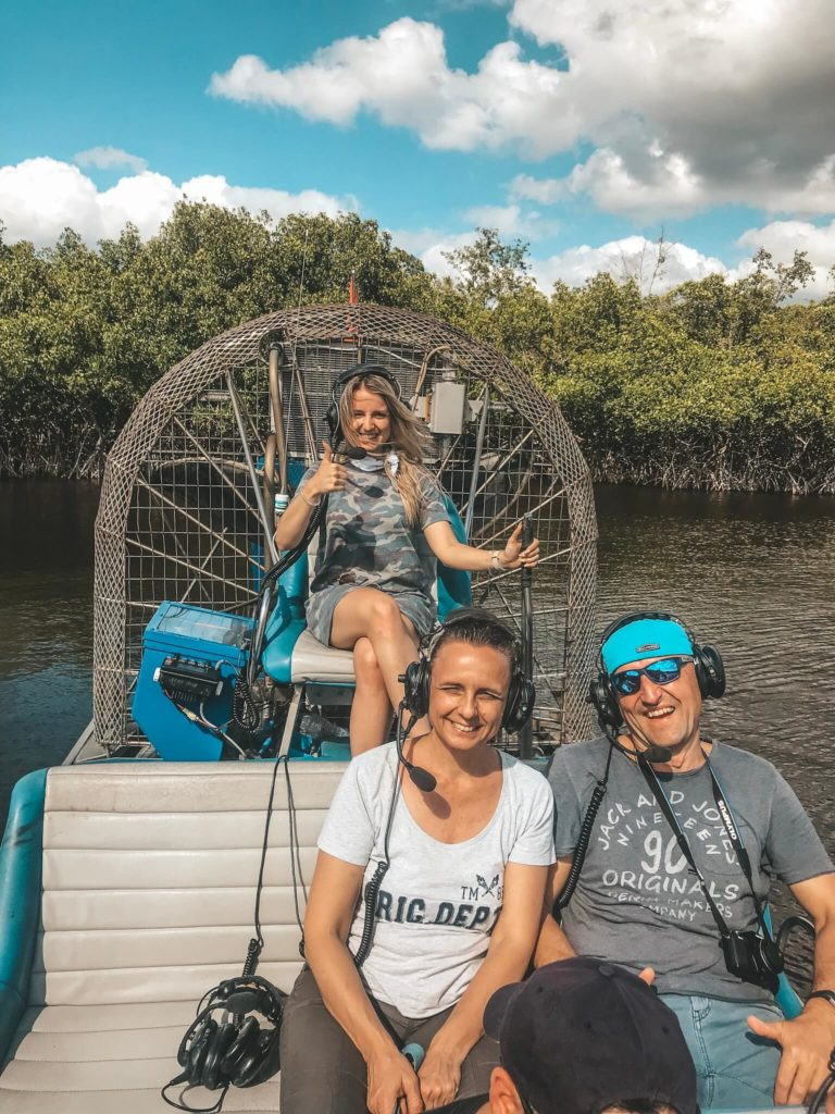 Everglades nationalpark airboat tour