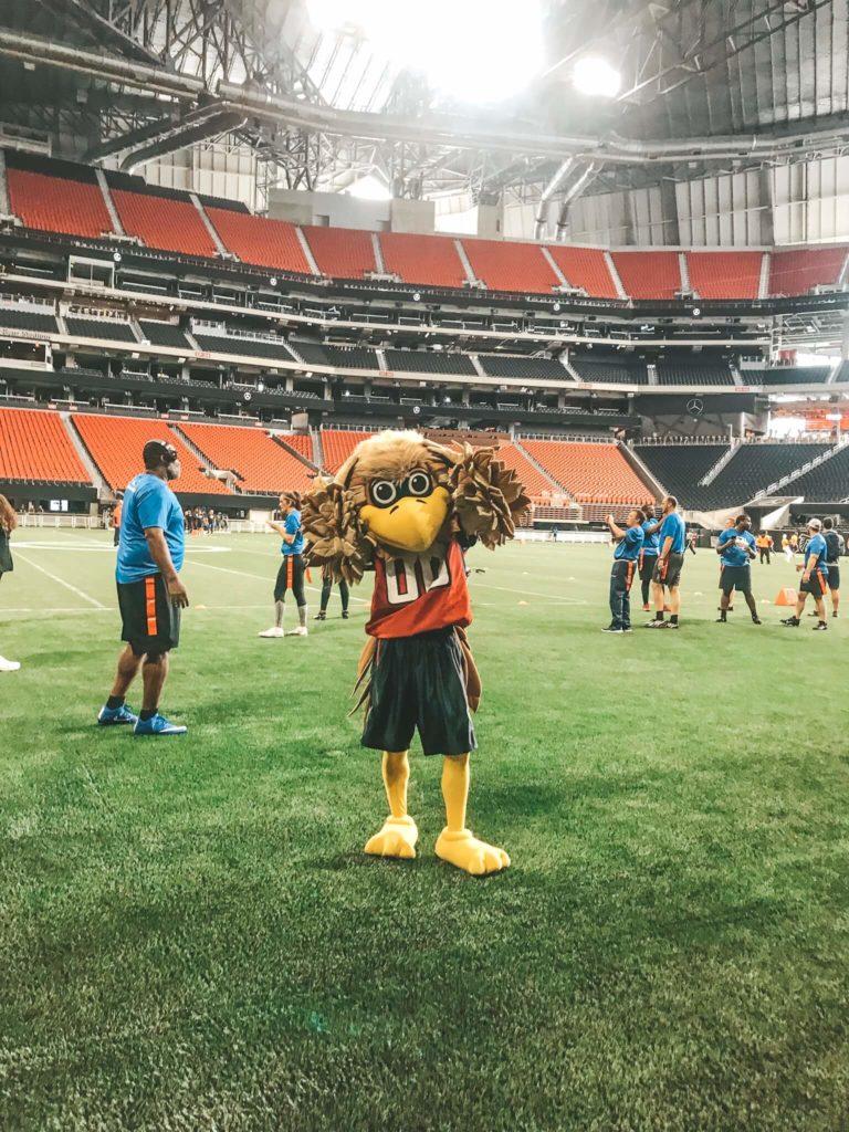Mascot Freddie - Atlanta Falcons