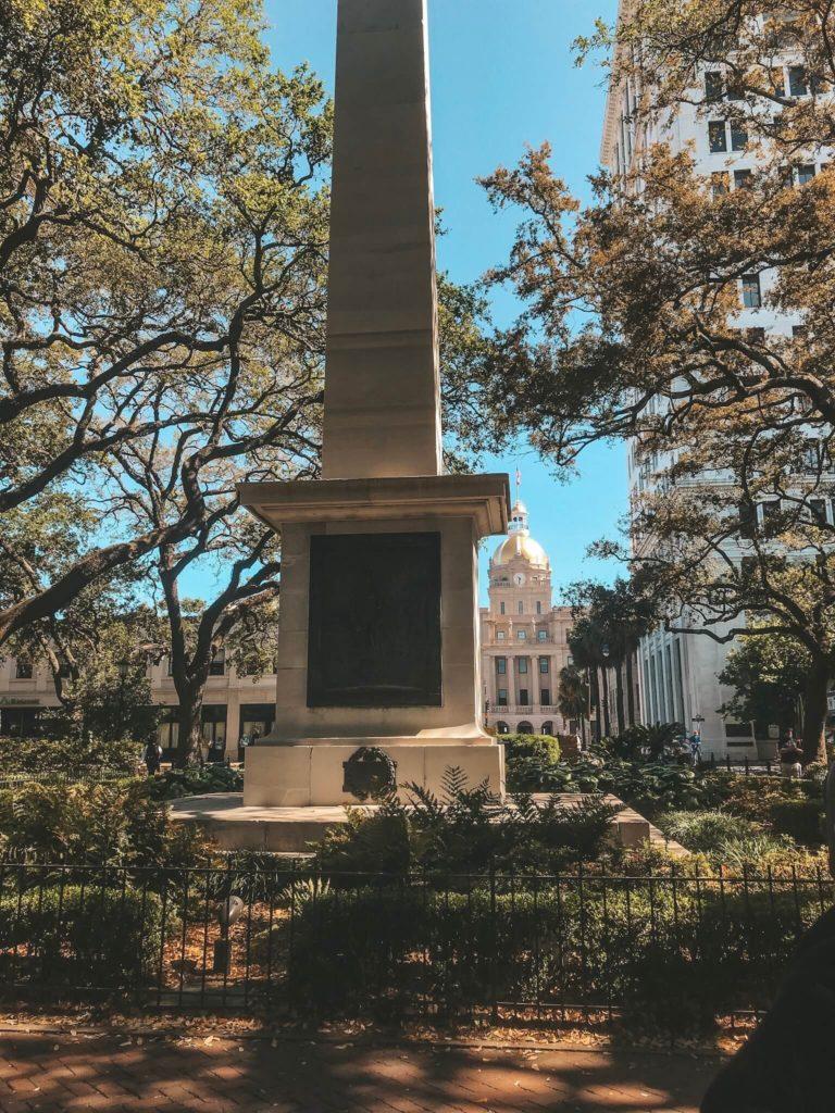 Johnson Square Denkmal