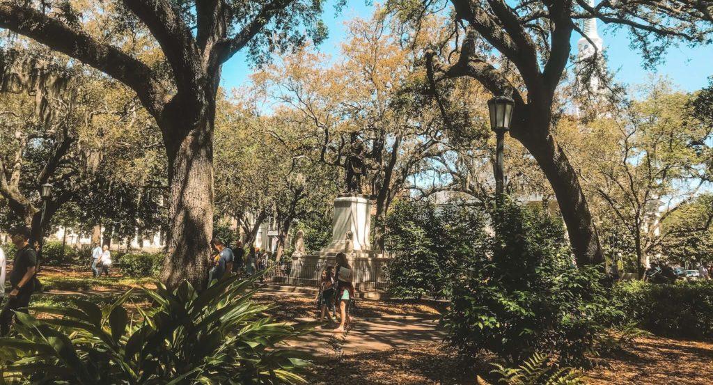 Chippewa Square Savannah