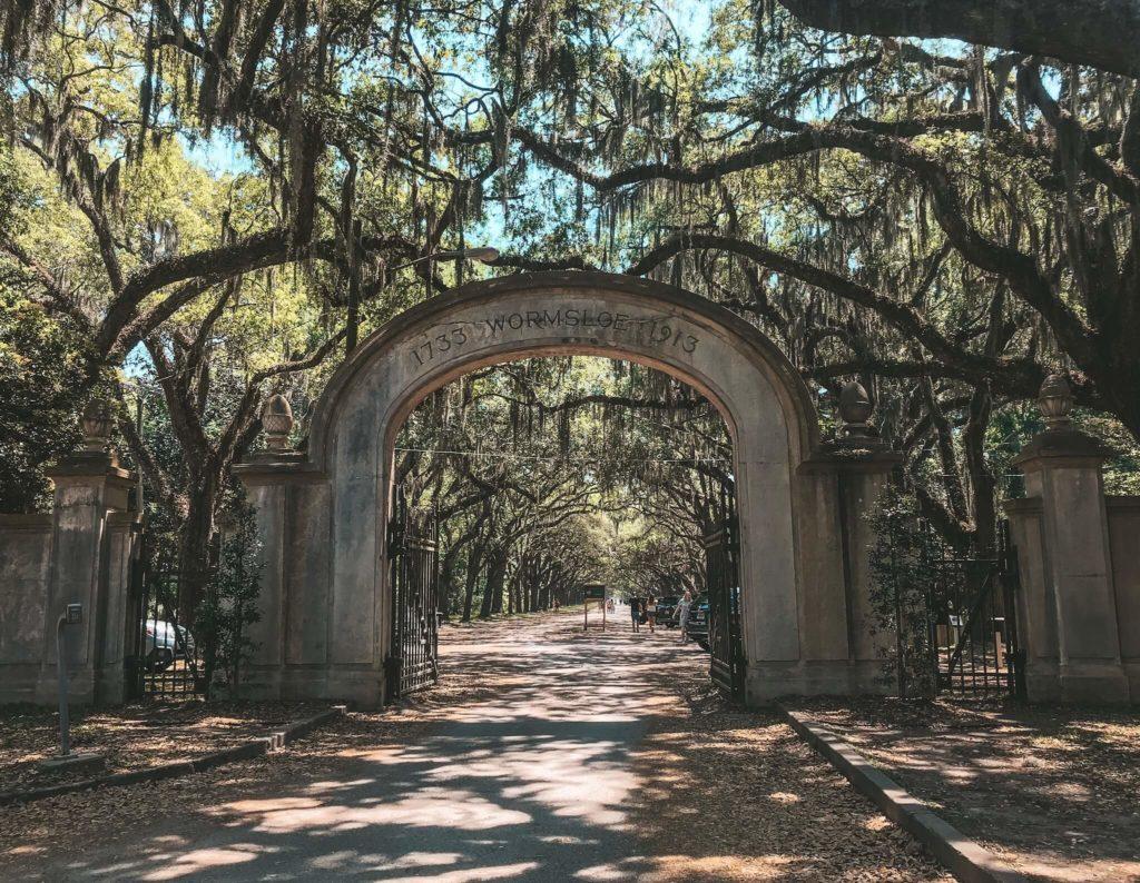 Wormsloe Savannah