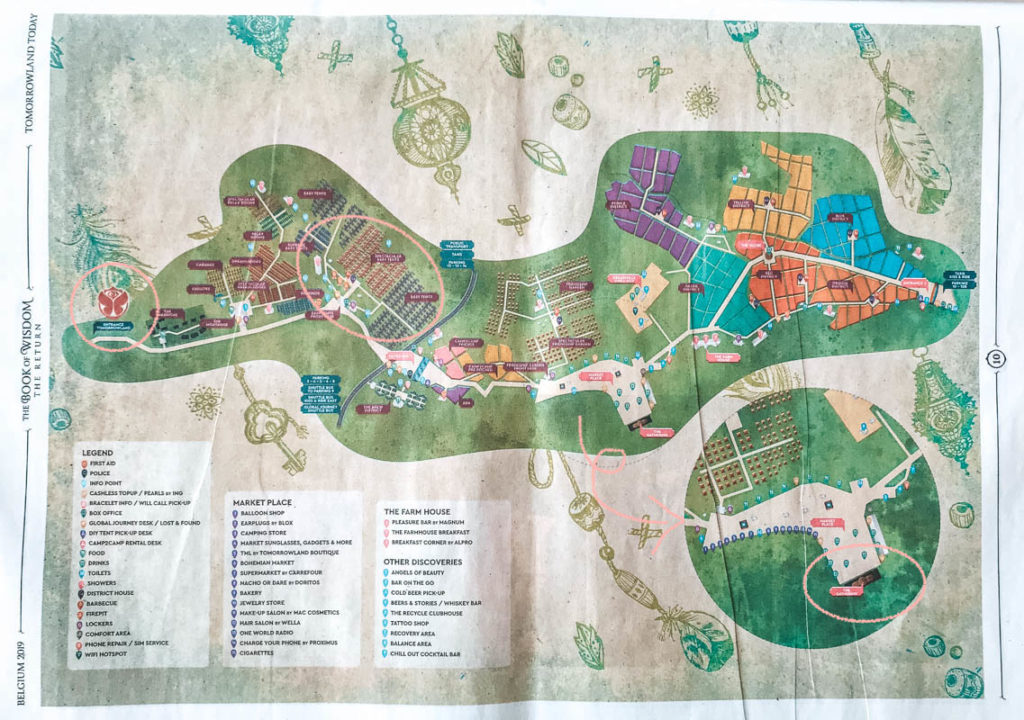 Tomorrowland floorplan
