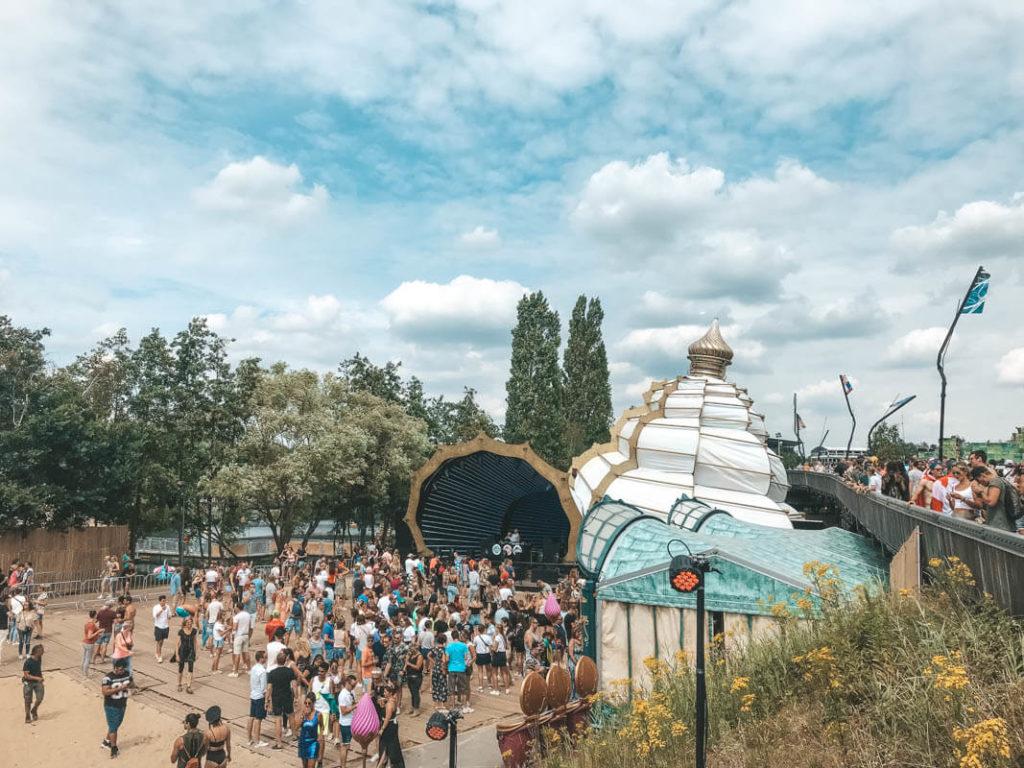 Tomorrowland Bühne