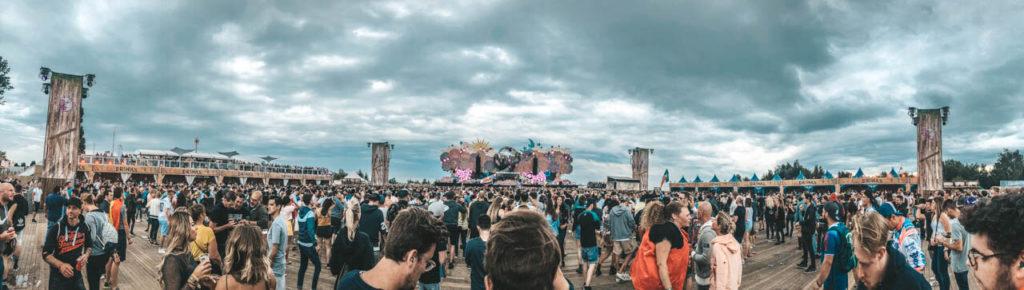 Tomorrowland Zeltplatz Bühne