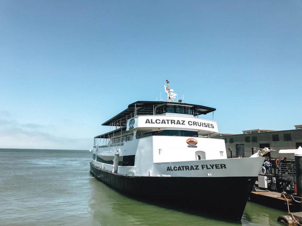 Alcatraz schiff