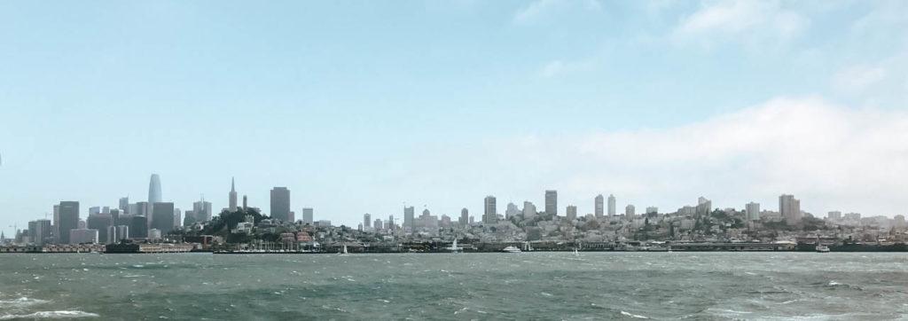 San Francisco vom Wasser aus