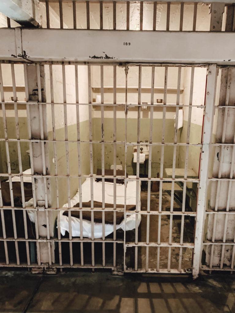 Alcatraz Zelle